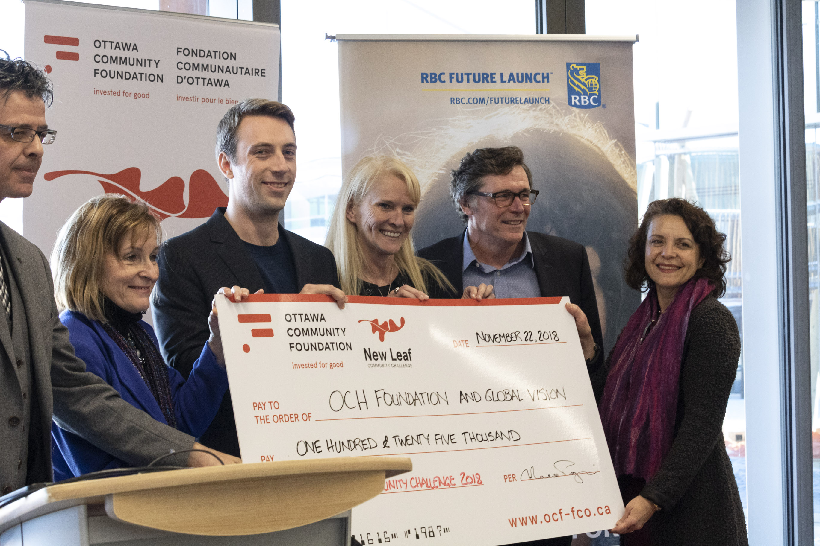 NEWS RELEASE - Ottawa Community Foundation Awards $125,000 to the