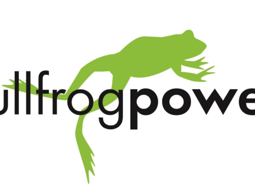 The Ottawa Community Foundation supports green electricity and green natural gas with Bullfrog Power®