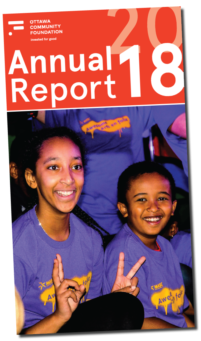 OCF 2018 Annual Report - Ottawa Community Foundation